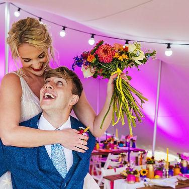 festival wedding photoshoot