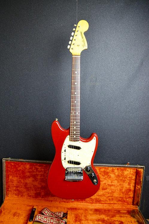 1966 Fender Mustang-Dakota Red