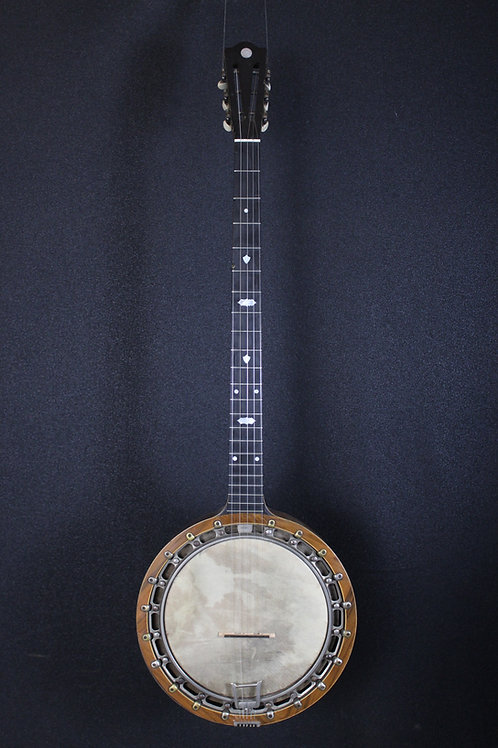 Circa Early 1900's New Windsor Irish Zither Banjo w/ohsc
