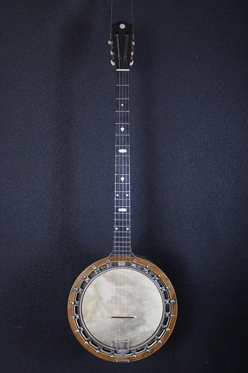 Circa Early 1900's New Windsor Irish Zither Banjo w/ohsc
