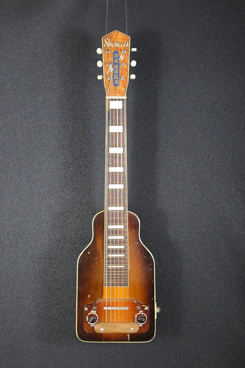 Early 1950's Sherwood Deluxe Branded Lap Steel