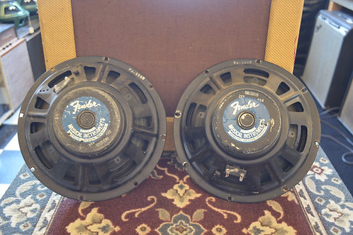 "1966 CTS/Fender10"" Speaker Pair"
