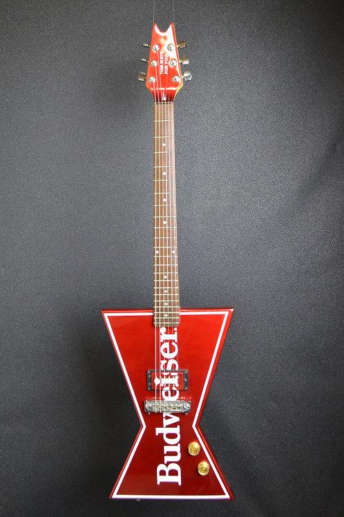 Dean Budweiser 'Bowtie' guitar