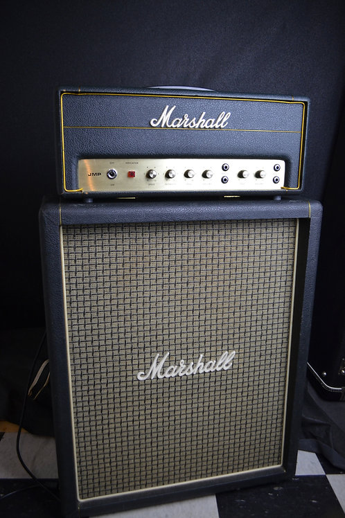 """1970 Marshall Tremolo 20 with 1974 """"Lead & Bass"""" 1x12 Ported Cab"""