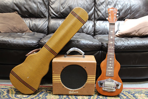 c. 1939 Gibson EH-100 Lap Steel & EH-100 Amp