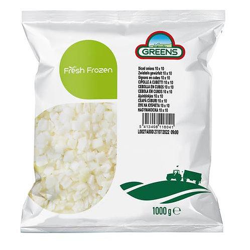 Cebolla en Cubos IQF $ 280/Kg.