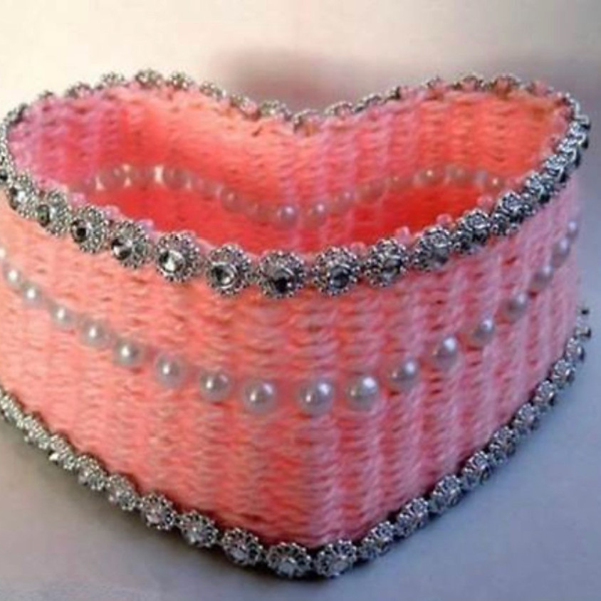 Summer Craft Sessions - Woven Baskets & Wire Hearts