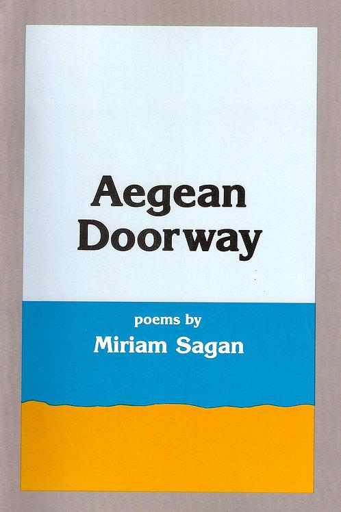 Aegean Doorway, by Miriam Sagan