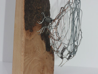 Wire birds migrate to Nature in Art
