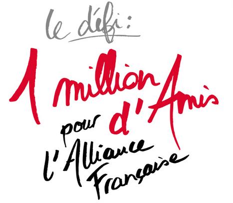 1 million d'amis pour l'Alliance française