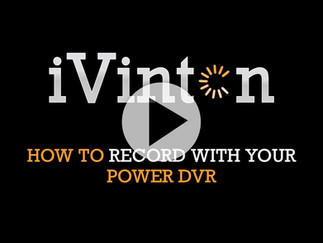 How To Record With Your Power DVR