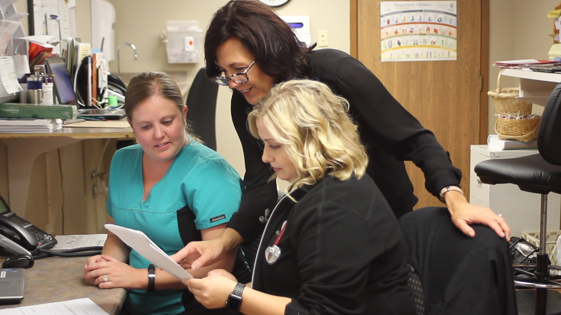 Staff at Van Horne Clinic