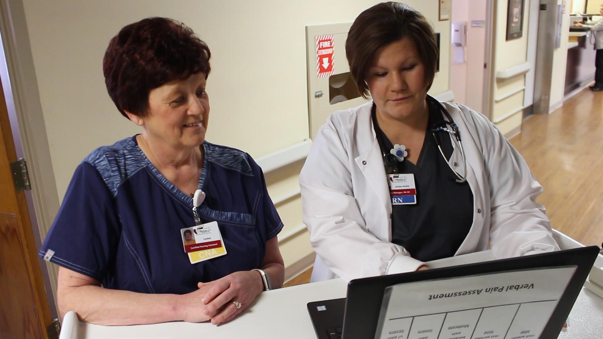 Nurse and Supervisor