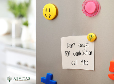 2019 IRA Contribution Deadline is Approaching!