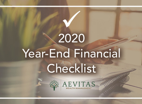10 Things to Put on Your Year-End Checklist