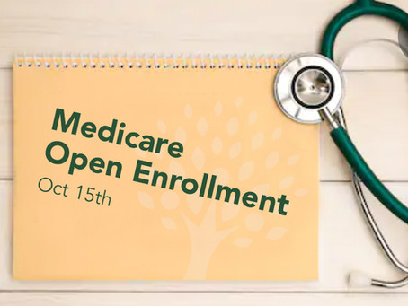 Medicare Open Enrollment for 2021 Begins October 15