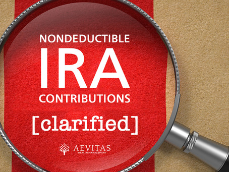 How are my IRA withdrawals taxed when I have nondeductible contributions?