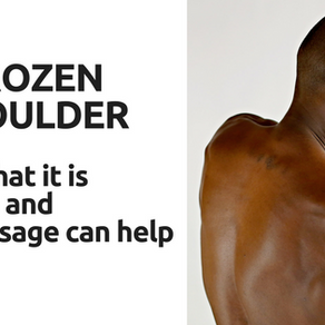 How can Massage help a Frozen Shoulder?