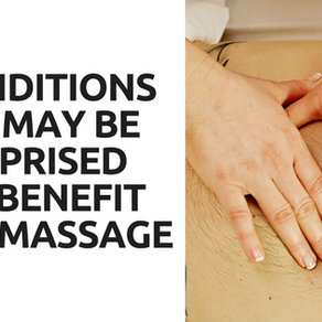 5 Conditions You May Be Surprised Can Benefit From Massage
