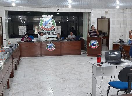 SESSÃO ORDINÁRIA DA CÂMARA DE VEREADORES DE ARARUNA-PB EM 02/10/2020; veja