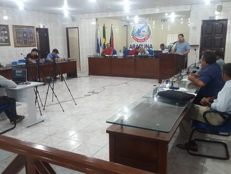 Na tarde desta sexta, mais uma sessão da Câmara de Vereadores de Araruna (28/09); Confira resumo