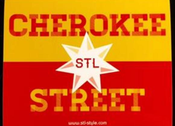 Cherokee Street Sticker