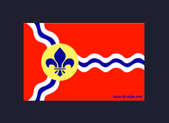 City Flag Sticker