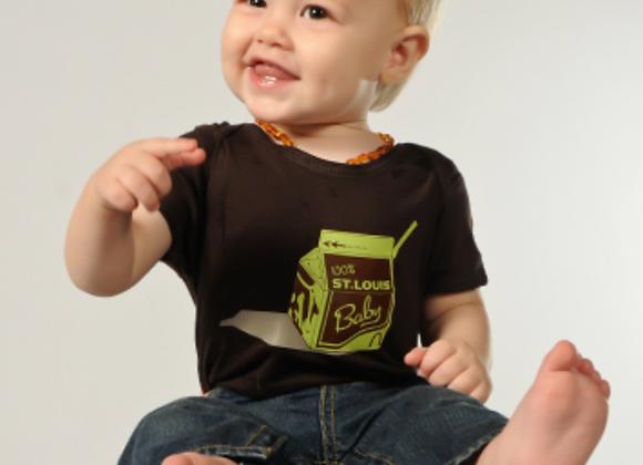100 Percent St. Louis Baby Onesie