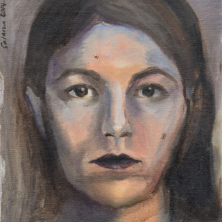 """Self-portrait"", 2015."