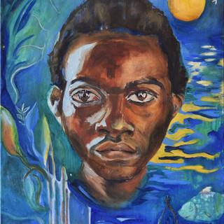 """""""Godfrey / The night"""", 2006"""