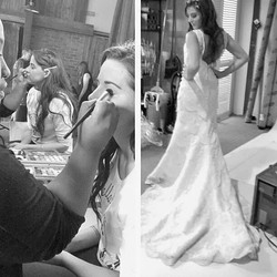 Recent work behind the scenes with Bridal Beauty Magazine _bridalbeautyxo