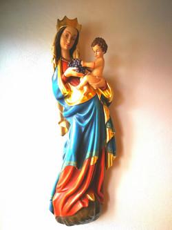 Sculpture Marie avec Jésus