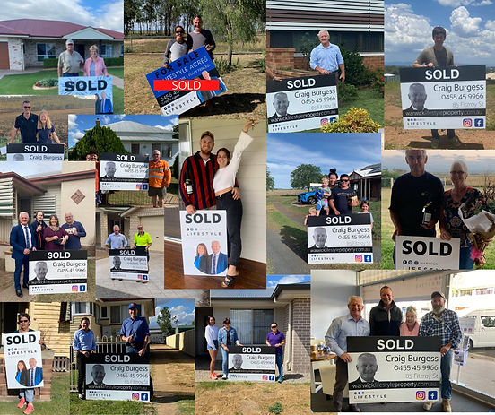 Warwick Lifestyle Property Sold Collage.