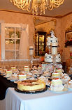 Let your guest feast on wedding cake and pastries at your private reception.