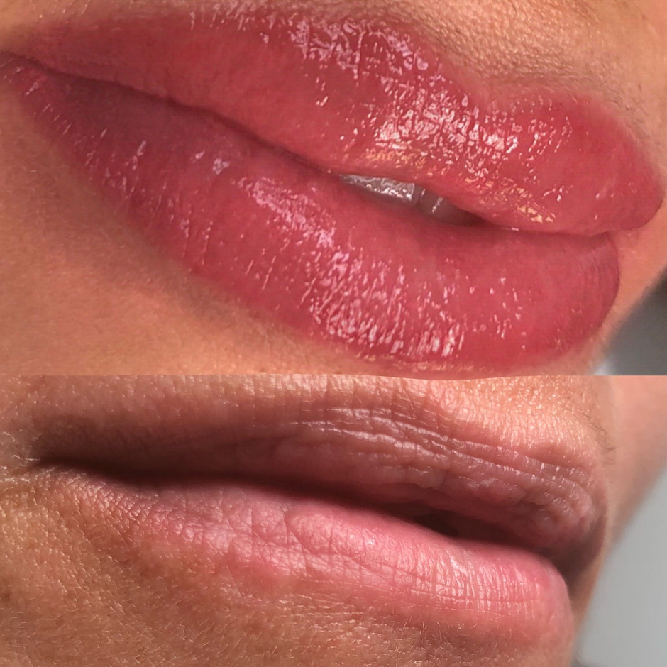 AQUARELA LIPS TATTOO