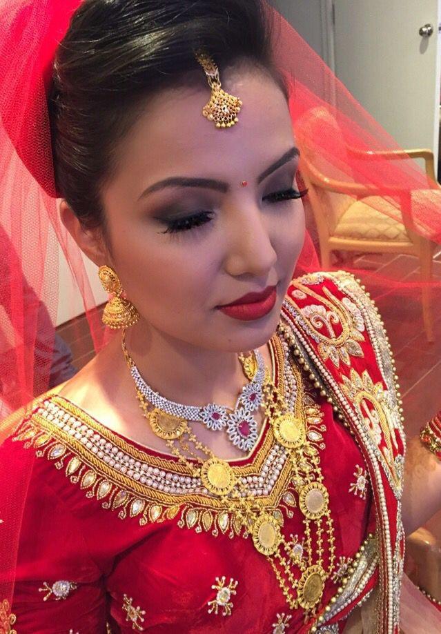 NEPALI WEDDING MAKEUP ARTIST