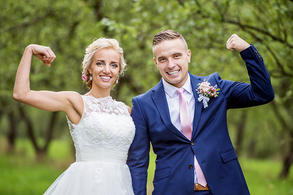 Weight Loss Bootcamp Bride and Groom