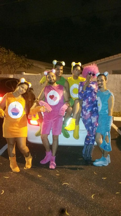 Cosmic Anonymous with the Care Bears