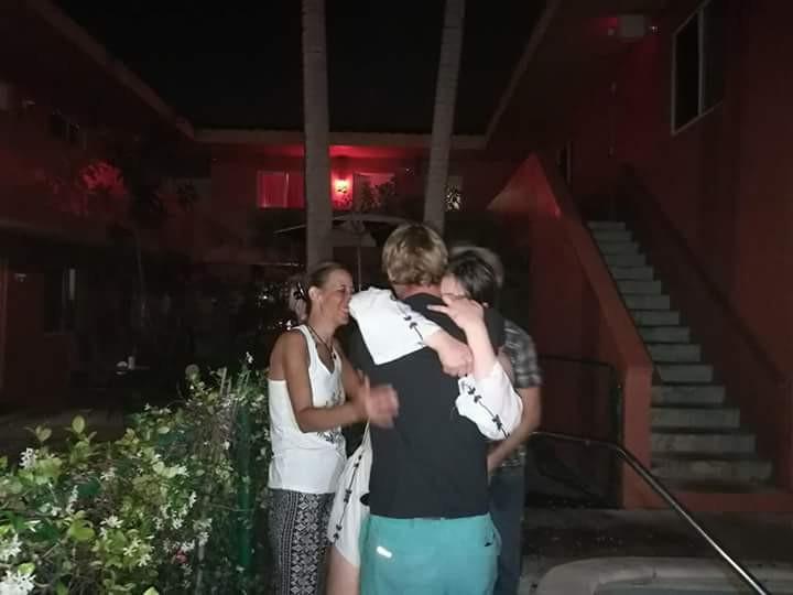 Myself, Nick and Anneka