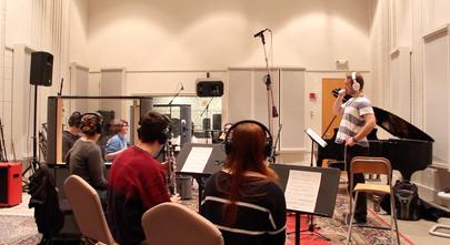 Recording a wind ensemble