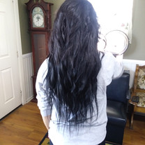 After Hair Extesions