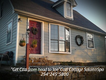 "Welcome To Cozi Cottage Salon and Spa   124 Commanche St Copperas Cove Tx 76522  ""Get Cozi from"