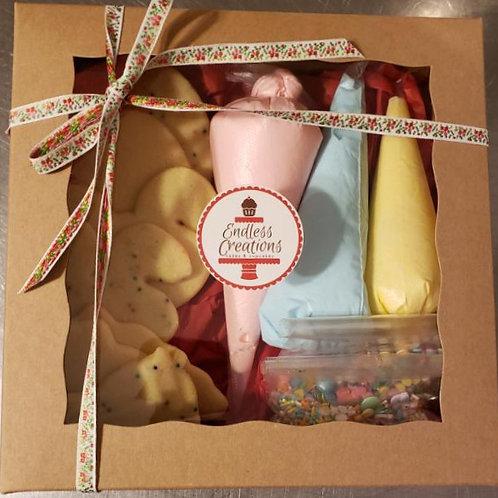 DIY Valentine's Day cooki kit