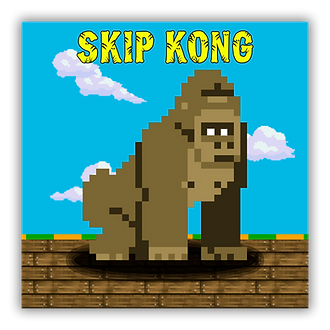 skip, kong, logo, game, android, ios