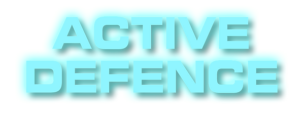 active, defence, logo
