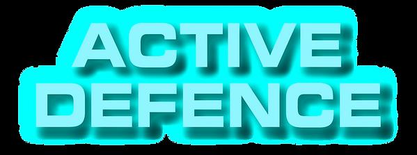active, defence, logo