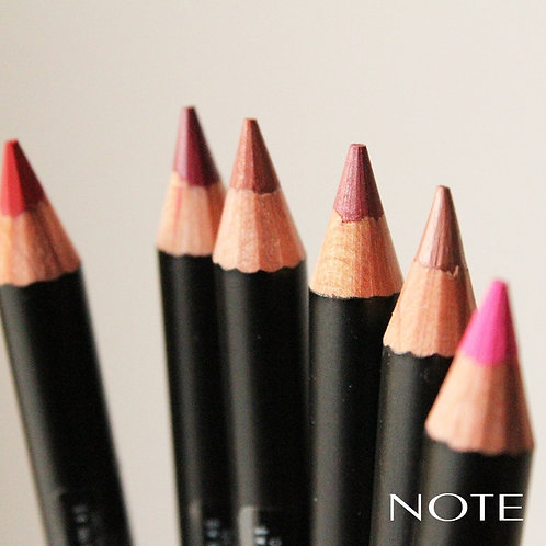 Rich colour lip pencil