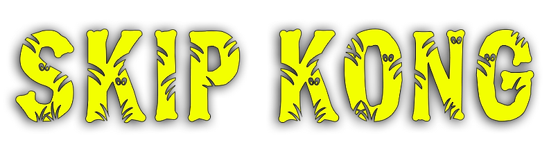 skip, kong, logo