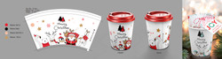 Christmas Paper Cup Design