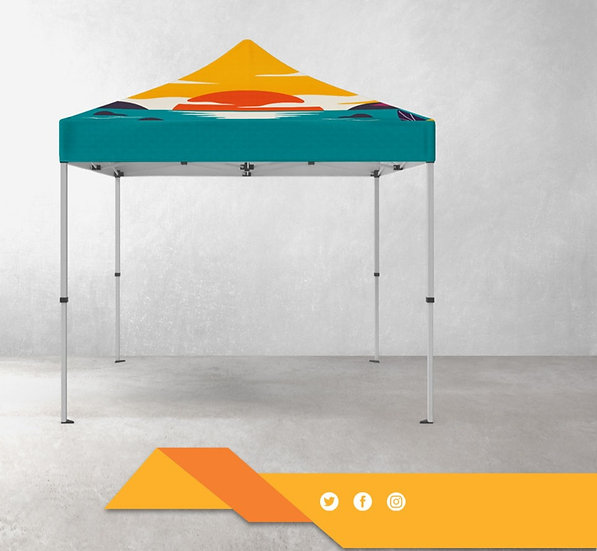 Full Color Print Canopy